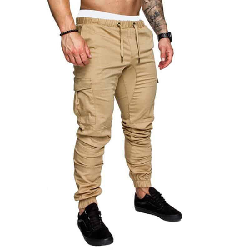 Men Jogger Pants,Men's Sweatpants, Leisure Cotton Men's Joggers ...